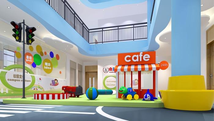 国际双语幼儿园装修设计案例