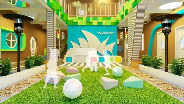 高端幼儿园装修设计案例