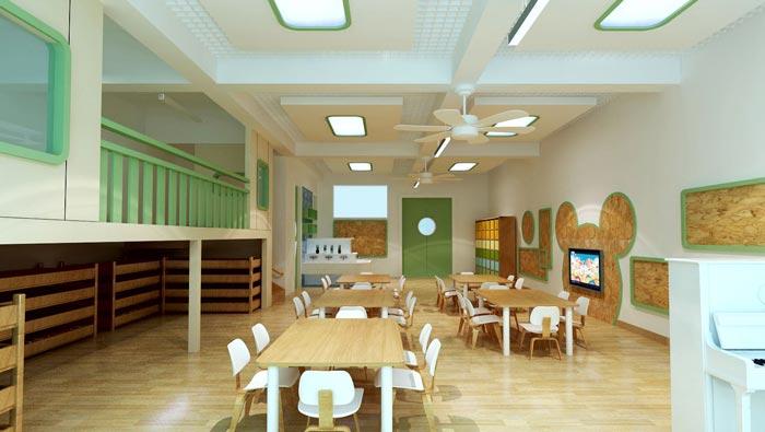 现代简约幼儿园装修设计案例