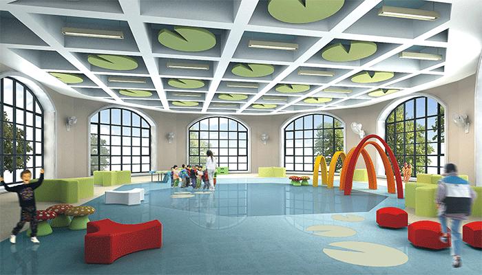蓝庭幼儿园装修设计